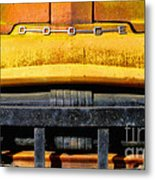 Old Yellow By Diana Sainz Metal Print