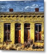 Old Yellow House In Buena Vista Metal Print