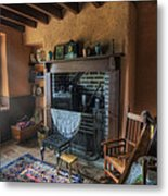 Olde Cottage Metal Print