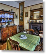 Olde Dining Room Metal Print