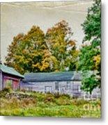 Olde Homestead On Rt 105 Metal Print