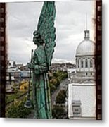 Olde Montreal Angel Metal Print by Alice Gipson