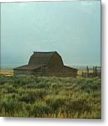 Oldest Barn In The Country Metal Print
