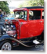 Oldie But Goodie - Classic Antique Car Metal Print