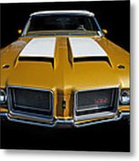 Oldsmobile 442 Metal Print