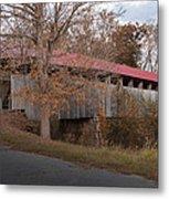 Oldtown Covered Bridge Metal Print