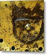 Ole Yeller Metal Print