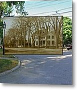 Oliver C. Brownell House On The Commons In Little Compton Rhode Island Metal Print