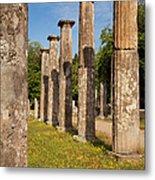 Olympia Ruins Metal Print