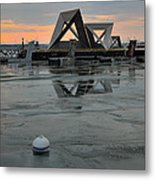 Olympic Harbor Kingston Metal Print