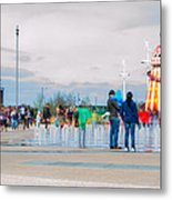 Olympic Park - Reopening Metal Print by Andrew Lalchan