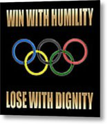 Olympic Spirit Metal Print