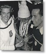 Olympic Winter Games 1964 In Innsbruckaustria 3 Gold-medal Metal Print