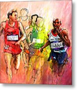 Olympics 10000m Run 01 Metal Print