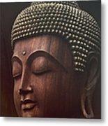 Om Mani Padme Hum  - Buddha Metal Print