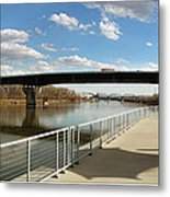 Omaha The Riverfront Metal Print