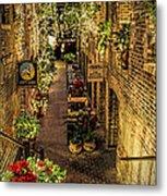 Omaha's Old Market Passageway Metal Print