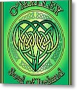 O'malley Soul Of Ireland Metal Print