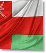 Oman Flag Metal Print