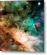 Omega Swan Nebula 2 Metal Print