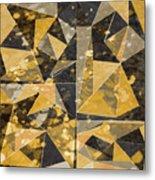 Omg Modern Triangles II Metal Print