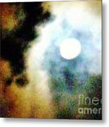 Ominous Moon Metal Print