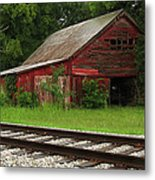 On A Tennessee Back Road Metal Print