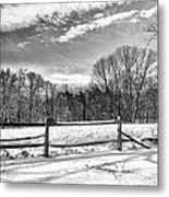 On A Winters Day Metal Print