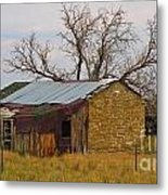 On An Old Country Road Metal Print