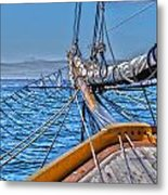 On Deck Metal Print