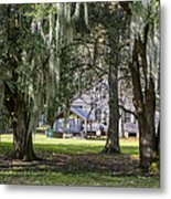 On Destrehan Plantation Metal Print