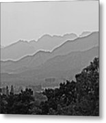 On Distant Heights Metal Print by Olivia Blessing