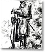 On Duty In Brigadoon  No Ch101 Metal Print