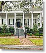 On Guard In New Orleans Metal Print