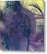 On Psychic Energy Metal Print