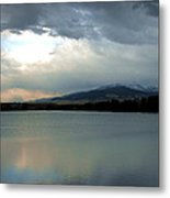 On Reflection Metal Print