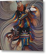 On Sacred Ground Series II Metal Print
