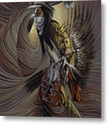 On Sacred Ground Series IIl Metal Print