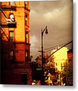 On The Boulevard Metal Print