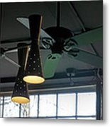 On The Ceiling Metal Print