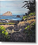 On The Coast Metal Print