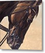 On The Diagonal Metal Print