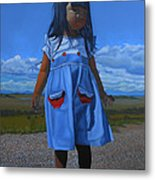 On The Divide Metal Print