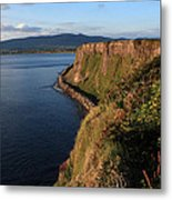 On The Edge Metal Print