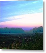 On The Edge Of A Storm Metal Print