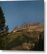 On The Going To The Sun Road  Metal Print