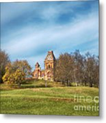 On The Hill Metal Print