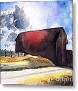 On The Macon Road. - Saline Michigan Metal Print