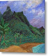 On The North Shore Metal Print