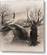 On The Other Side Metal Print